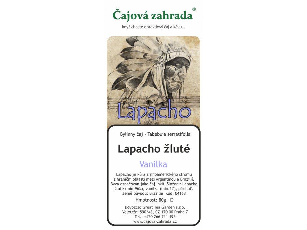 Sypaný čaj Lapacho Vanilka
