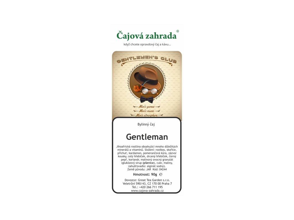 Rooibos sypaný čaj Gentleman