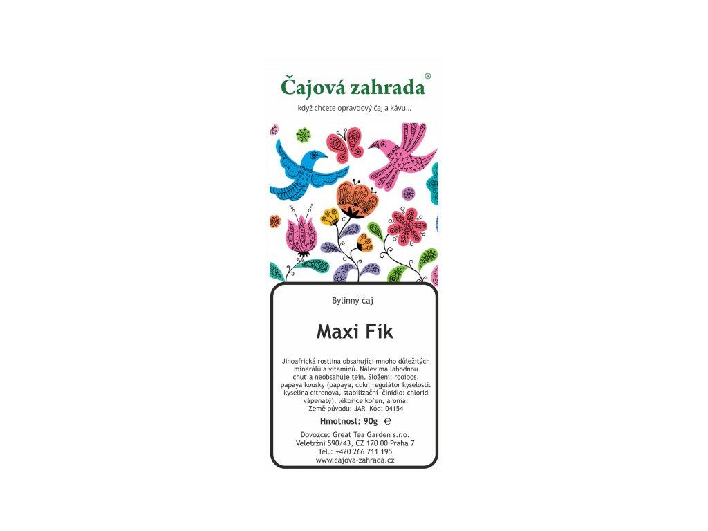 Rooibos sypaný čaj Maxi Fík
