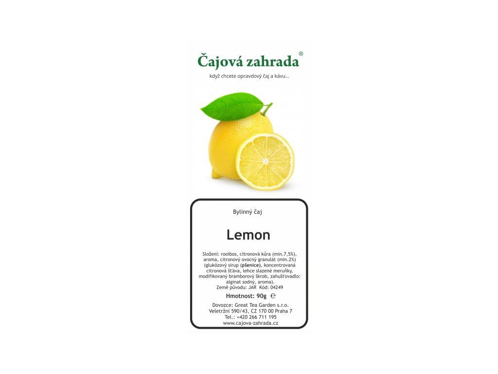 Rooibos sypaný čaj Lemon_Citron