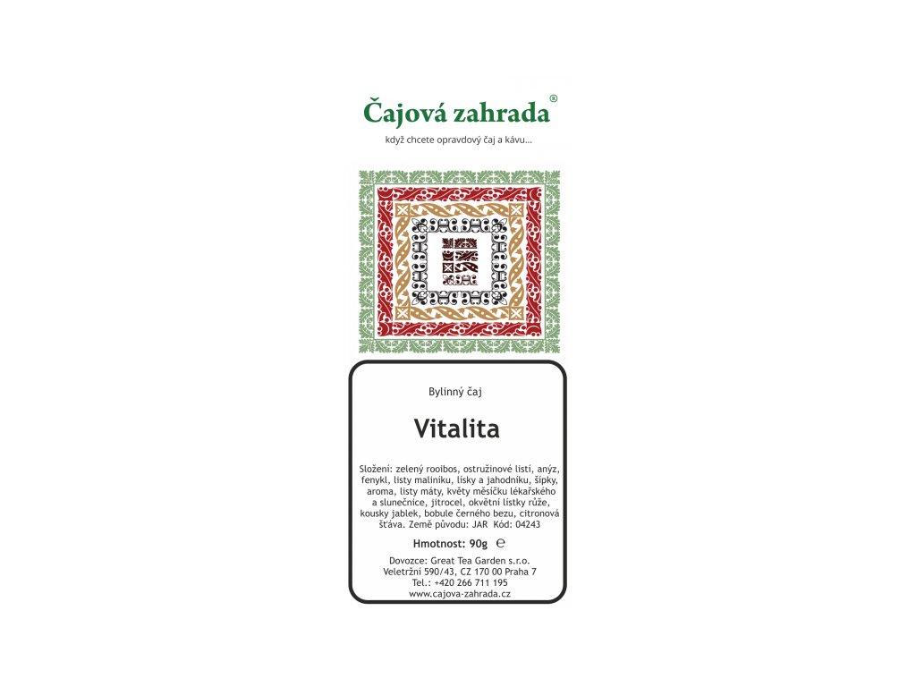Rooibos sypaný čaj Vitalita
