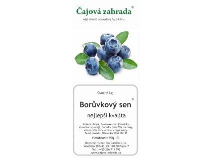 Ovocný sypaný čaj Borůvkový sen