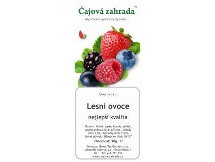 Ovocný sypaný čaj Lesní ovoce