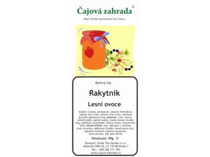 Rooibos sypaný čaj Rakytník_Lesní ovoce