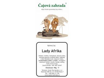 Rooibos sypaný čaj Lady Afrika