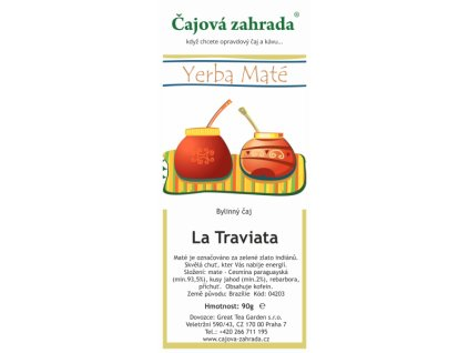 Maté La Traviata čaj | Energie co Vás