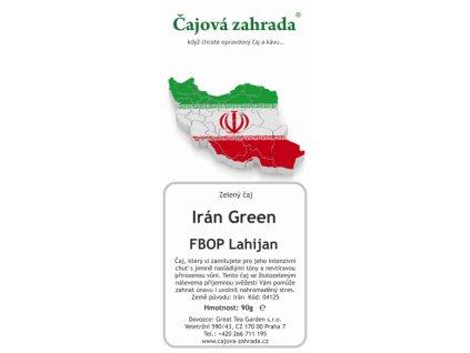 Zelený sypaný čaj Irán Green Lahijan