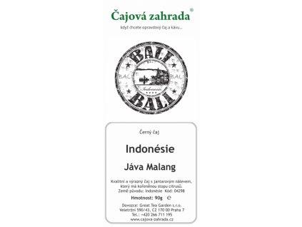 Indonésie Jáva Malang - černý čaj