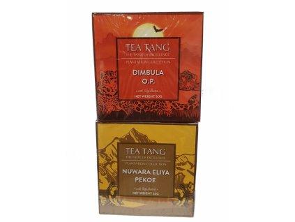 Kolekce sypaných cejlonských čajů