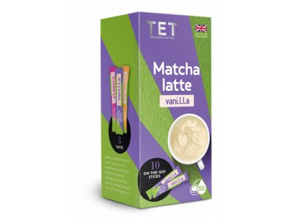 Matcha Latte Vanilka