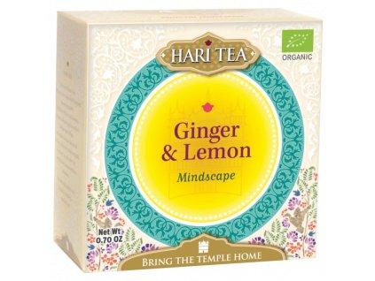 Sáčkový ajurvédský čaj Hari Tea - Zázvor & Citron