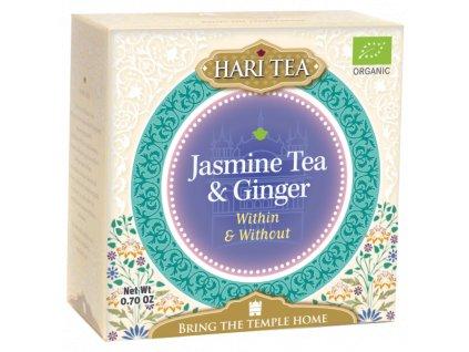 Sáčkový ajurvédský čaj Hari Tea - Jasmínový čaj & Zázvor
