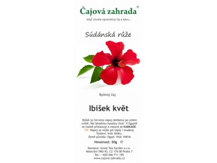 Bylinný čaj Ibišek květ