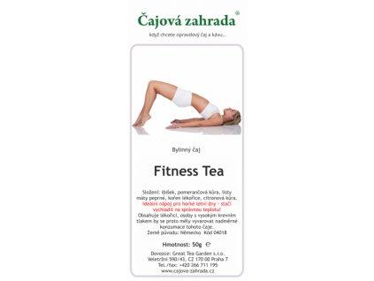 Bylinná směs Fitness Tea