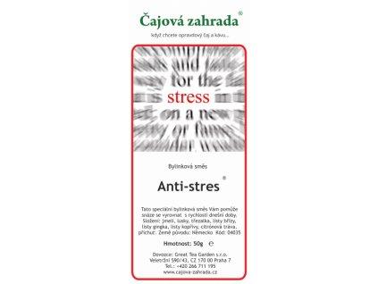 Bylinná směs Antistres