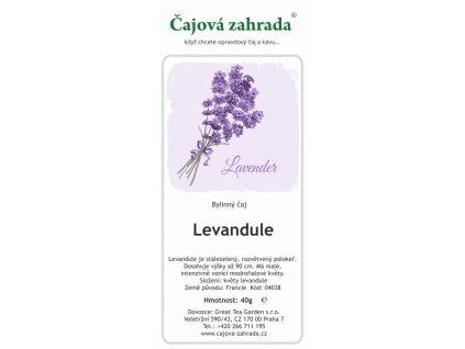 Bylinný Levandulový čaj