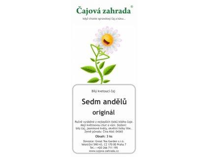 Kvetoucí bílý čaj Sedm andělů - sada 3ks