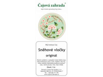 Kvetoucí bílý čaj Sněhové vločky sada