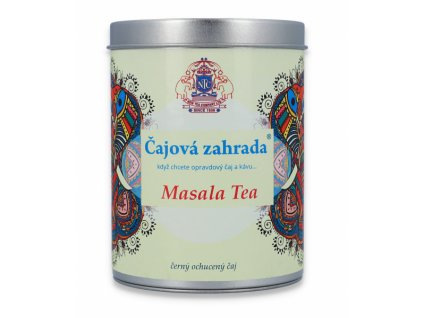 Černý ochucený Masala Tea v dóze