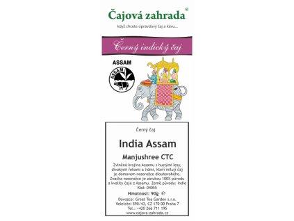 Sypaný černý čaj India Assam Manjushree