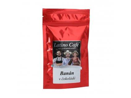 Aromatizovaná káva Banán v Čokoládě