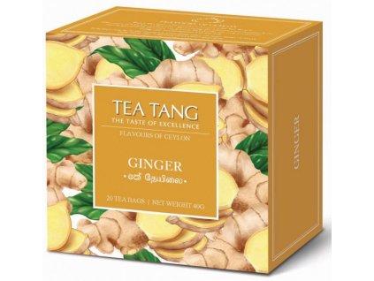 Černý sáčkový čaj Tea Tang - Zázvor