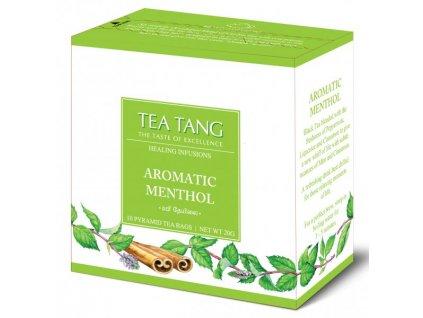Černý sáčkový čaj Tea Tang - Menthol
