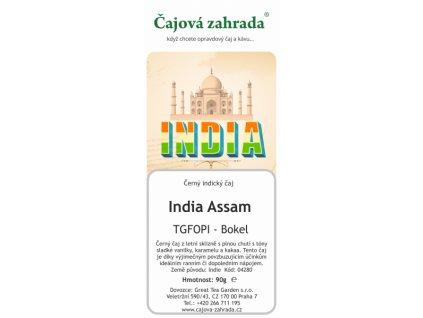 Sypaný černý čaj India Assam TGFOPI Bokel