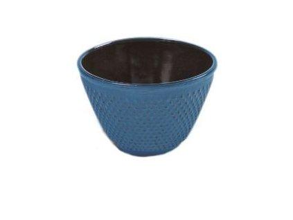 Japonský litinový šálek Nikko modrý