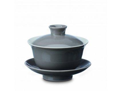 Souprava Gaiwan (Zhong) Hao šedá