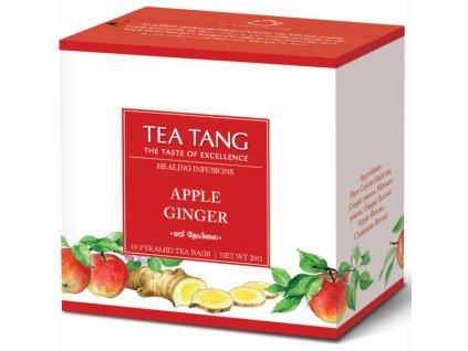 Černý sáčkový čaj Tea Tang - Jablko zázvor