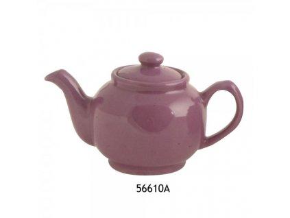 Konvice na čaj fialová 2 šálky