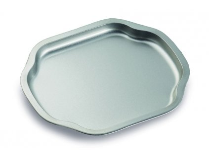 Servírovací tác - stříbrný