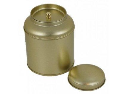 Dóza na čaj Gold 250g