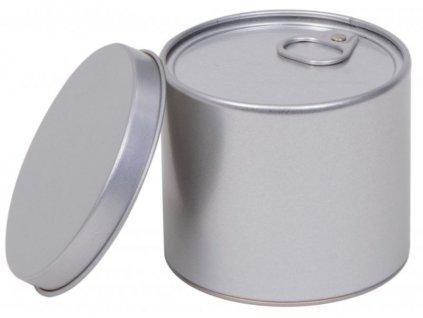 Dóza na čaj stříbrná Monako