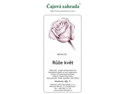 Bylinný čaj_Růže květ poupě