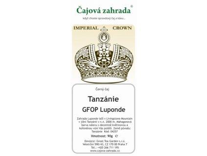 Tanzánie GFOP Luponde - černý čaj