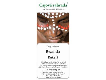 Rwanda Rukeri - černý čaj