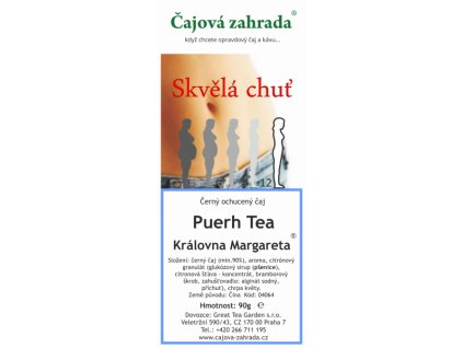 Puerh Tea Královna Margareta®