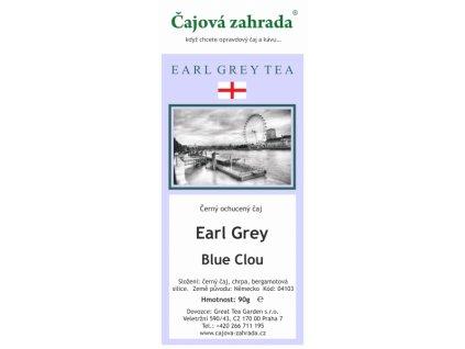 Sypaný černý čaj Earl Grey Blue Clou