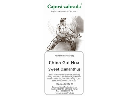 Sypaný čaj Oolong China Gui Hua Swet Osmanthus