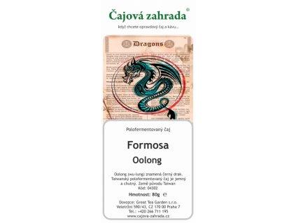 Sypaný čaj Formosa oolong