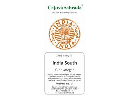 Zelený sypaný čaj Indie South Glen Morgan