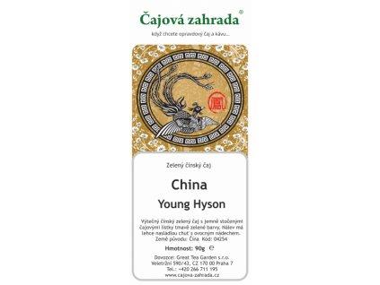 Zelený sypaný čaj China Young Hyson