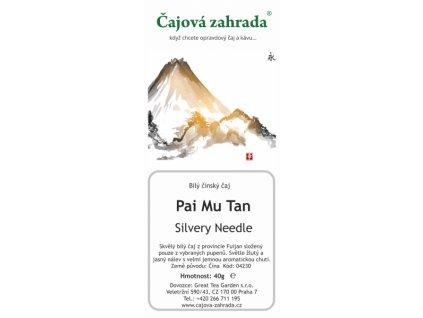 Bílý sypaný čaj Paimutan Silvery Needle