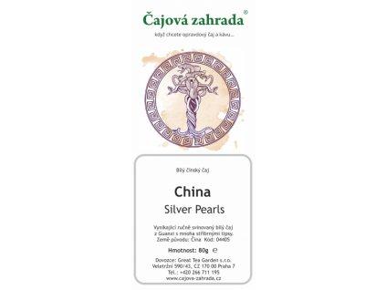 Bílý sypaný čaj China Silver Pearls