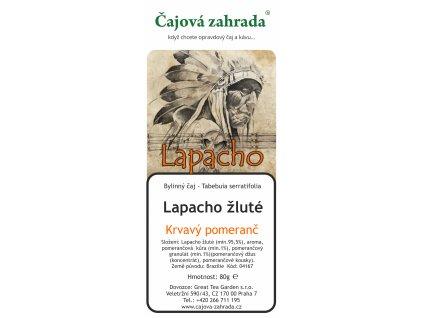 Sypaný čaj Lapacho Krvavý pomeranč
