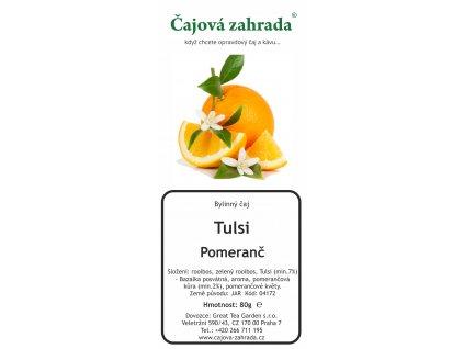 Tulsi Pomerančový rooibos