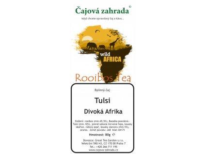 Rooibos sypaný čaj Tulsi Divoká Afrika