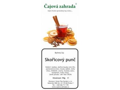 Rooibos sypaný čaj skořicový punč_skořicový čaj